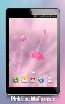 Pink Live Wallpaper apk screenshot