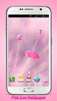 Pink Live Wallpaper poster