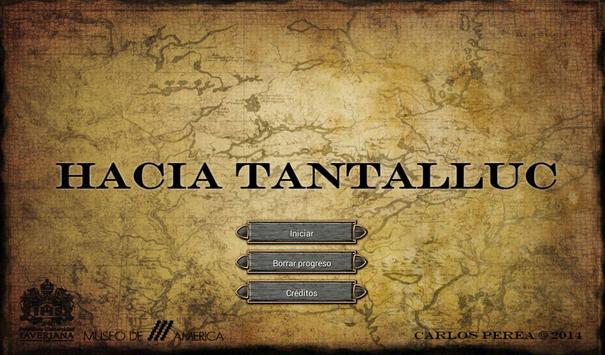 Hacia Tantalluc poster