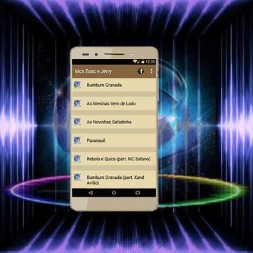 MCs Zaac & Jerry - Bumbum Granada Canciones apk screenshot