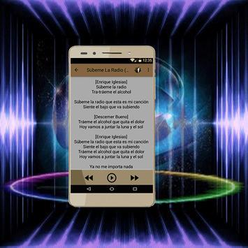 Enrique Iglesias Duele El Corazón letras apk screenshot