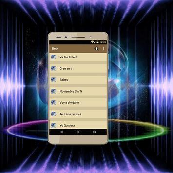 Reik canciones apk screenshot
