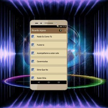 Ricardo Arjona - canciones apk screenshot