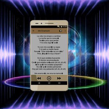 Shakira Chantaje Canciónes y Musicas screenshot 3