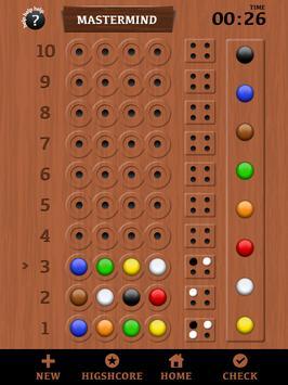 Classic MasterMind apk screenshot