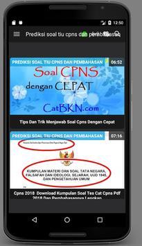 Kumpulan Video Prediksi Soal & PembahasanTIU CPNS screenshot 2