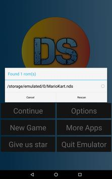 Free DS Emulator - For Android स्क्रीनशॉट 3