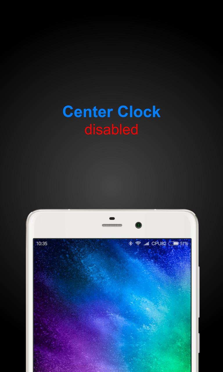 MIUI Center Clock (unofficial) for Android - APK Download