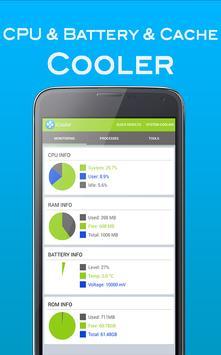 Cooler App CPU & System Cooler poster