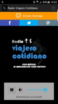 Radio Viajero Cotidiano poster