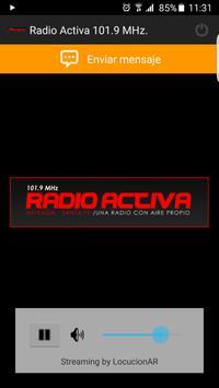 Radio Activa 101.9 poster