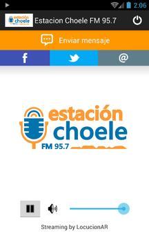 Estacion Choele FM 95.7 poster