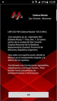 Cadena Master screenshot 1