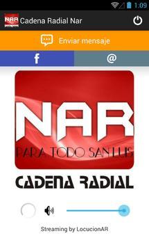 Cadena Radial Nar poster