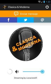 Clasica & Moderna poster