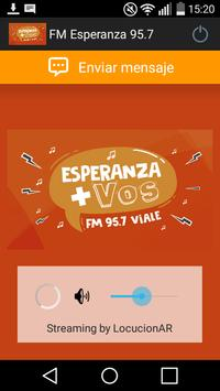 FM Esperanza 95.7 poster