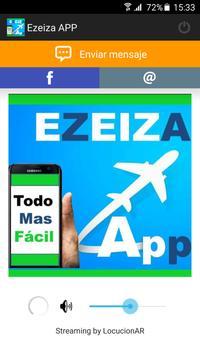 Ezeiza APP screenshot 1