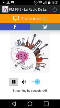FM 95.9 - La Radio De La Escuela poster