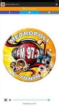 FM METROPOLI 97.3 poster