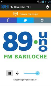 FM Bariloche 89.1 poster