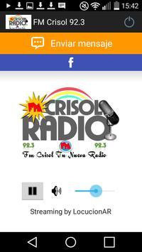 FM Crisol 92.3 poster