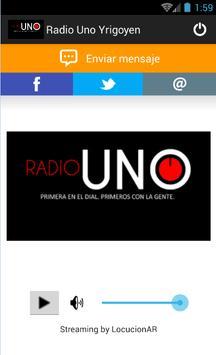 Radio Uno Yrigoyen 88.5 MHz screenshot 1