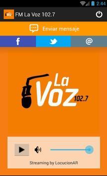 La Voz 92.7 apk screenshot