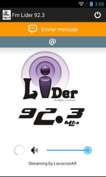 Fm Líder 92.3 poster