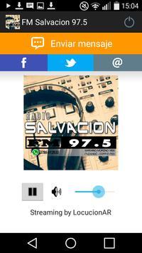FM Salvacion 97.5 poster