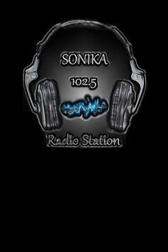 FM Sonika 102.5 MHz poster