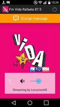Fm Vida Rafaela 87.5 poster