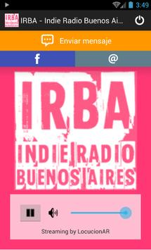 IRBA-Indie Radio Buenos Aires poster
