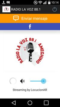 RADIO LA VOZ 88.1 poster