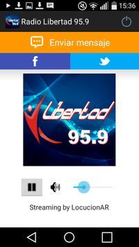 Radio Libertad 95.9 poster