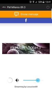 FM Milenio 89.3 poster