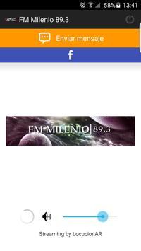 FM Milenio 89.3 apk screenshot