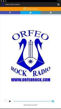 ORFEO ROCK RADIO poster