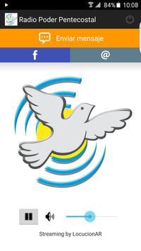 Radio Poder Pentecostal poster