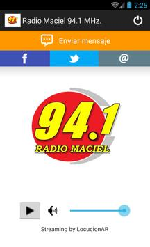 Radio Maciel 94.1 MHz. apk screenshot