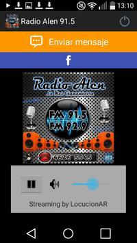 Radio Alen 91.5 poster