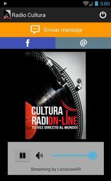 Radio Cultura poster