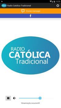 Radio Católica Tradicional poster