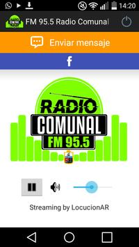 FM 95.5 Radio Comunal Tres Lagos poster