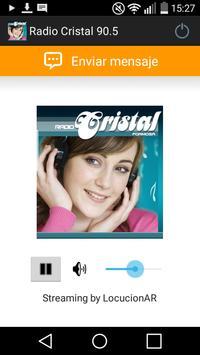 Radio Cristal 90.5 poster