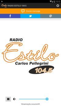 Radio Estilo Carlos Pellegrini poster