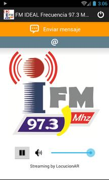 FM IDEAL Frecuencia 97.3 Mhz. poster