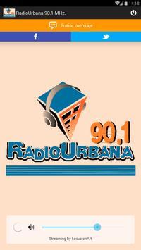 Radio Urbana 90.1 MHz poster