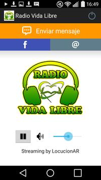 Radio Vida Libre poster