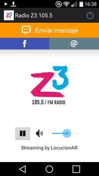 Radio Z3 105.5 poster