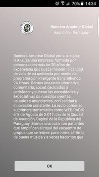 Runners Amateur Global screenshot 1